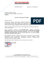Undangan Pelatihan Sertifikasi Teknisi Beton Poltek Padang