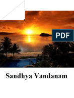 The Sandhyavandanam of All Vedic Shakhas