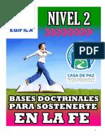 Nivel 2 Las Bases Doctrinales Para Sostenerte en La Fe