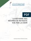 CGEM - La Réforme Des Retraites