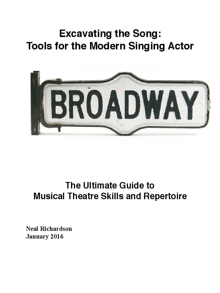 Excavating the Song Full | Musical Theatre | Audition