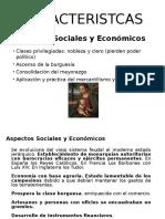 Aspecto Social- Economico Renacimiento