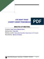 MoM - Meezan Bank (Ihsan Trust) by Mansoor Ali Seelro