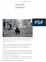 Has War in Syria Also Destroyed Journalism