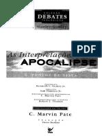 As interpretações do Apocalipse - Coleção debates teológicos.pdf