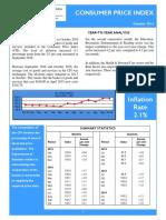 Consumer Price Index - Oct 16