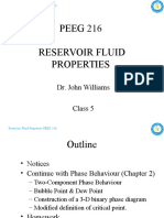 PEEG 216 Reservoir Fluid Properties - Class 5 - 14&15FEB10 (Updated HW Due Date)
