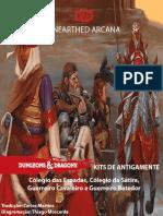 Unearthed Arcana - Kits de Antigamente