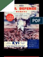 Civil Defense Seattle Manual (1950)