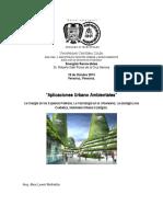 Aplicaciones Urbano Ambientales
