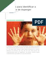 10 Sinais Para Identificar a Síndrome de Asperger