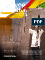 """Revista """"Correo del Alba"""" No. 43 - Enero, 2015"""