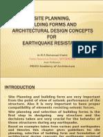 Site Planning, Building Forms Etc- Ar. Mohamed Khalid