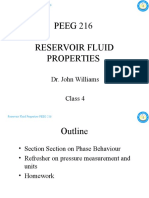 PEEG 216 Reservoir Fluid Properties - Class 4 - 9&10FEB10