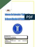 Informe Entrevista Y Aplicación De Recurso Educativo