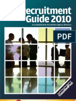 Recruitment Guide 2010 (Recruitment Firms & Headhunters in Hong Kong)