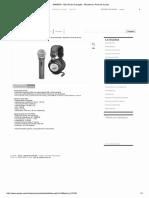 SAMSON - Q2U Kit de Gravação - Microfone e Fone de Ouvido