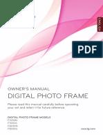LG Digital Photo Frame Manual