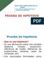 Prueba Hipótesis
