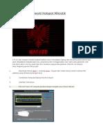 Cara Hack Password Hotspot Mikrotik
