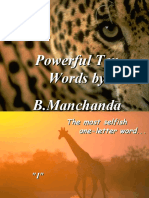 10 Most Powerful Words