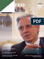 """Revista """"Correo del Alba"""" No. 53 - Enero-Febrero, 2016"""