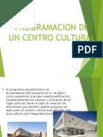 Programacion de Un Centro Cultural Diseño 4 1