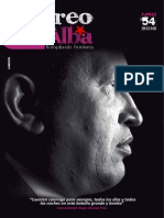 """Revista """"Correo del Alba"""" No. 54 - Marzo, 2016"""