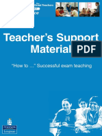 How to Successful Exam Teaching