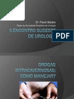 Drogas Vasoativas- PAULO ROBERTO BASTOS -Urologia