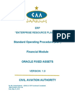Fixed Assets Module (SOP)