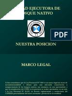 Bosques Nativos - Posición de la FAA