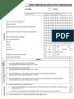 Formulir Surat Pernyataan Harta - Excel