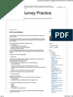 Hull Survey Methods