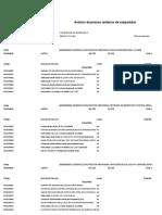 Analisis de Precios Unitarios de Subpartidas Obras Civiles