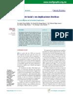 Trasplante Facial y Sus Implicaciones Bioéticas