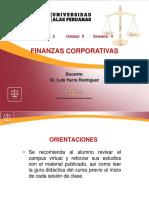 Finanzas corporativas y funciones