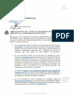 Carta Presidenta Interina a Comunidad Universitaria Sobre Requerimientos