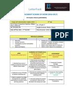 scheme of work 4th dcg