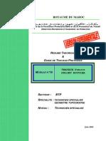 M16 -Travaux Pratiques _ Projet Routier BTP-TSGT