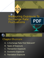 Chapter 10 - Measuring Exposure to Exchange Rate Fluctuations(1)
