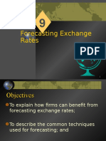 Chapter 09 - Forecasting Exchange Rate