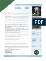 PFF Newsletter 2016