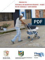 Proyecto -PGIRS- Charalá