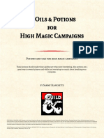 20 Oils and Potions