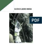 Fortificación de Labores Mineras