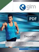 Catalogo gimbel deportes