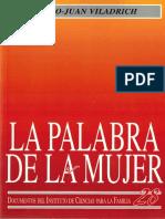 La Palabra de Mujer - Pedro-Juan Viladrich.pdf