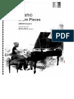 Piano Exam Pieces g - 5 2013-2014