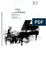 Piano Exam Pieces g - 2 2013-2014